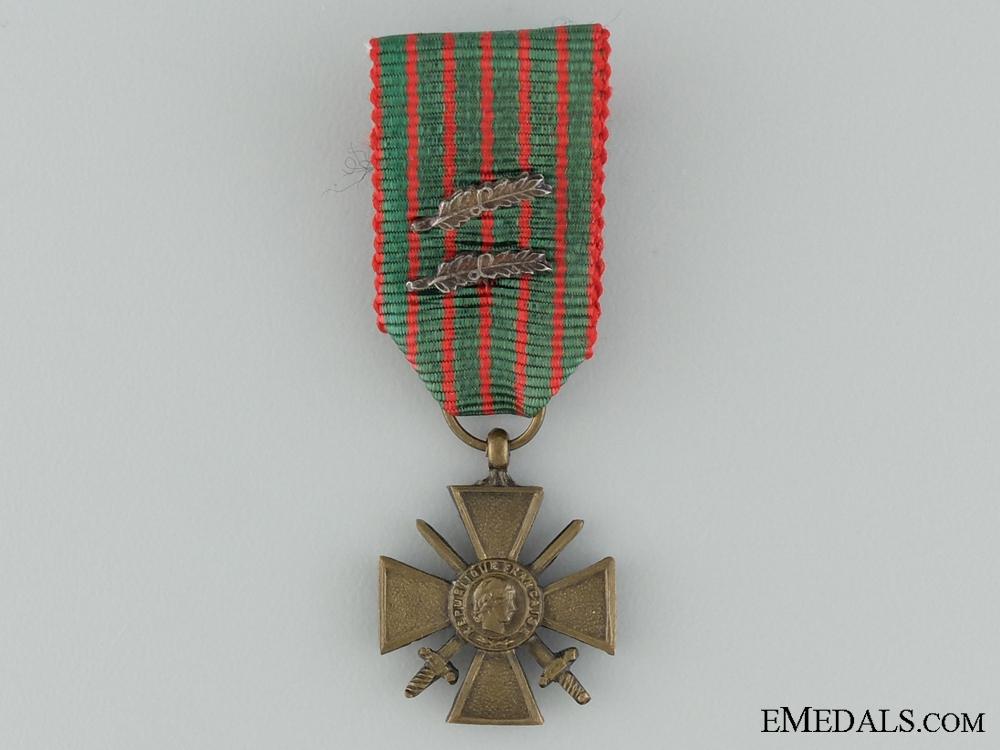 WWI Miniature War Cross 1914-1918