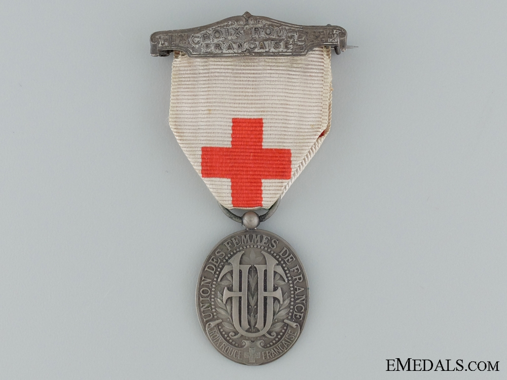 WWI National Union of the Women of France Medal