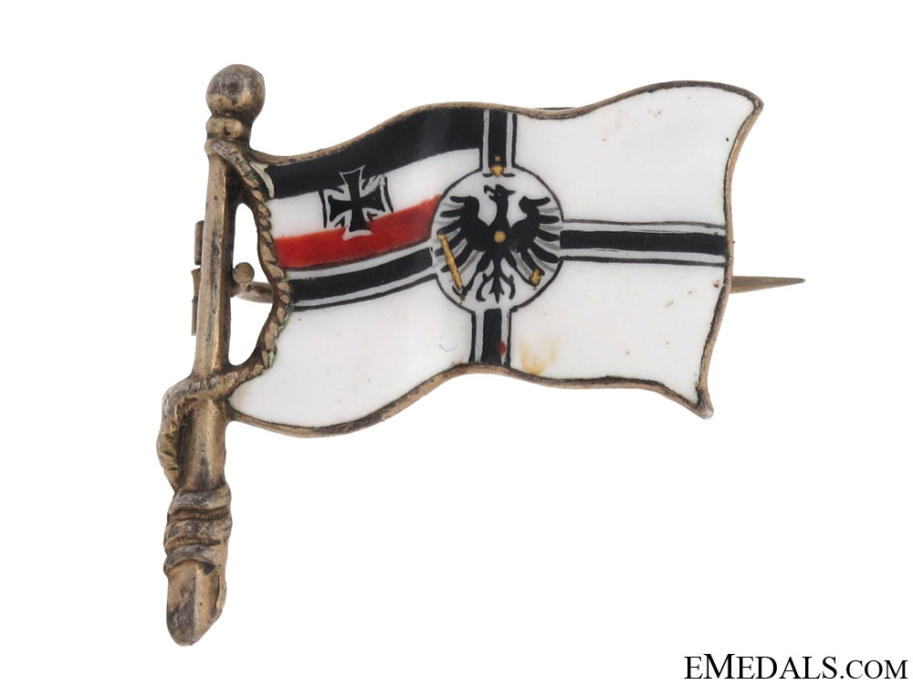 WWI Patriotic Naval Flag