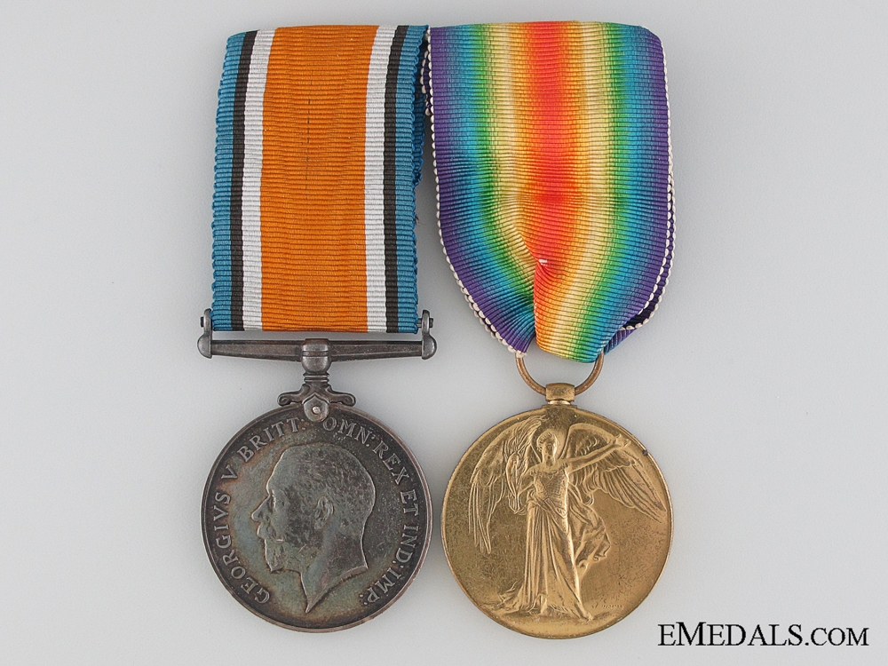 WWI R.A.F. Pair of British Medals