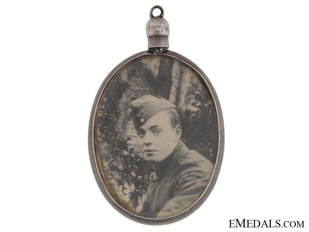 WWI RFC Sweetheart Memorial Pendant