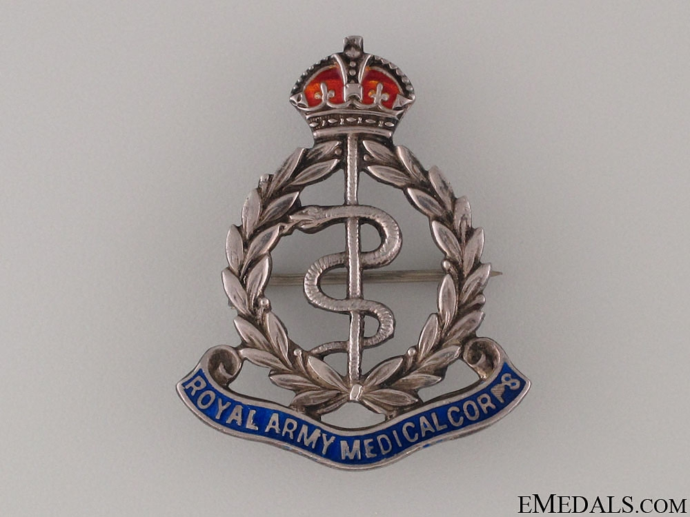 WWI Royal Army Medical Corps Sweetheart Pin