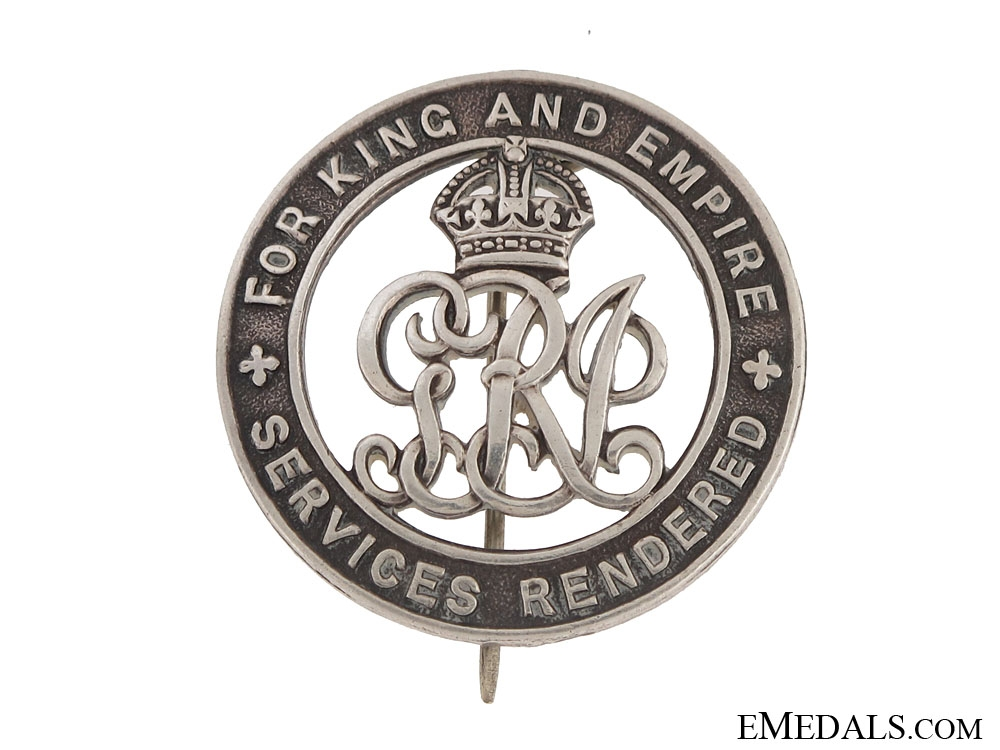 WWI Silver War Badge