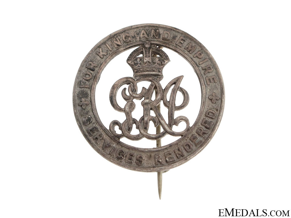 WWI Silver War Badge