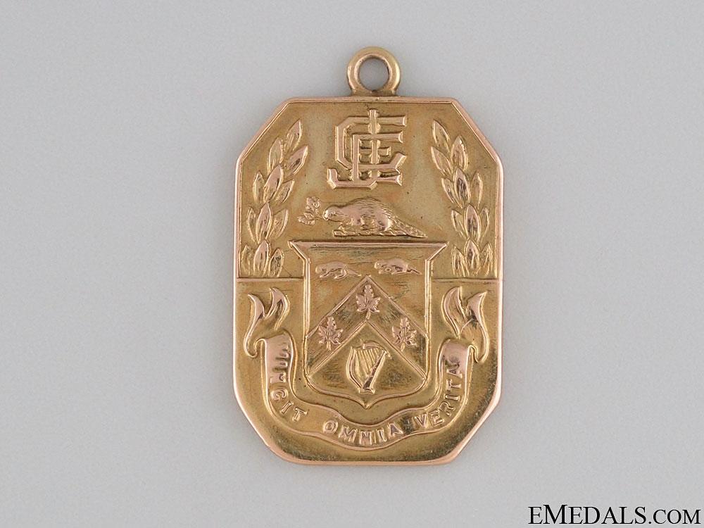 WWI Sir John Craig Eaton Gold Service Medal