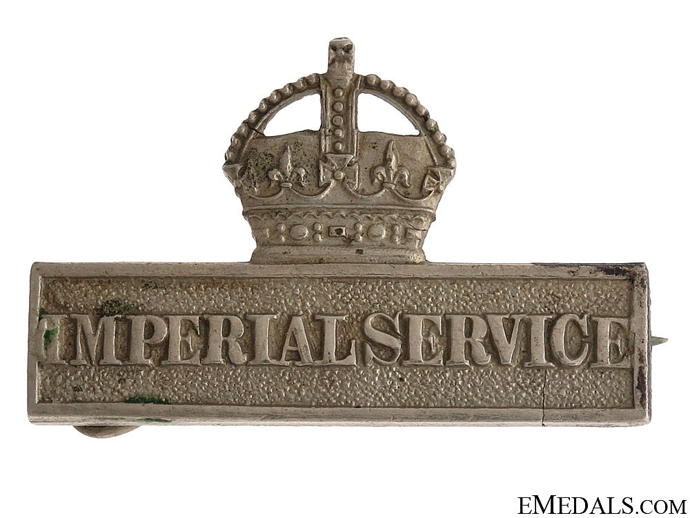 WWI Territorial Force Imperial Service Badge