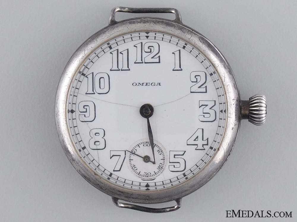 An Omega Trench Watch of Major McLaughlin; Commander of 2nd CAN Infantry