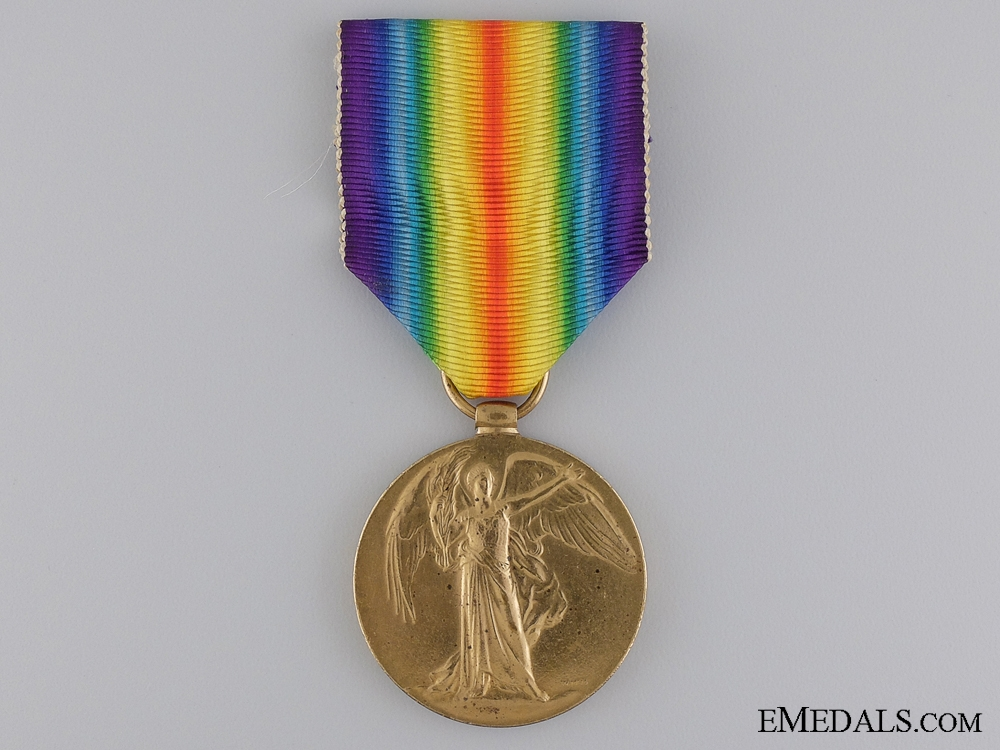WWI Victory Medal to the 24th Canadian Infantry; KIA