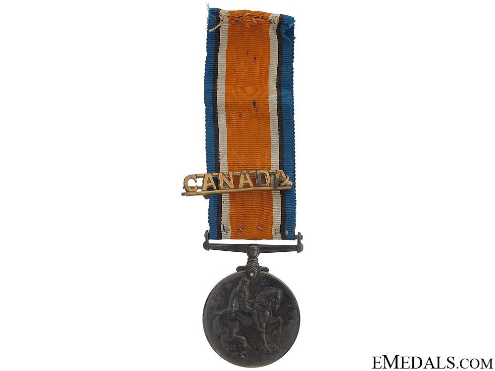 WWI War Medal - 52nd Canadian Infantry