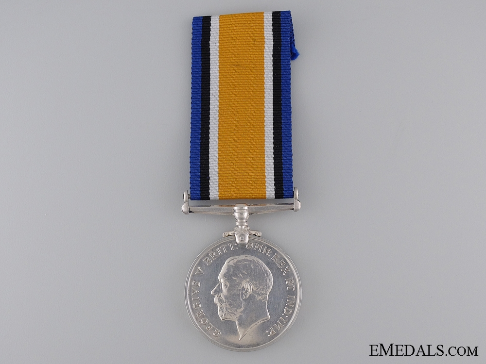 WWI War Medal to the 19th Battalion; KIA Battle of the Somme