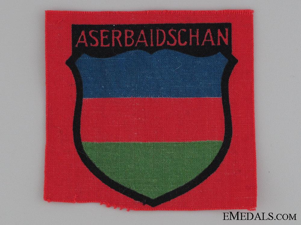 WWII Azerbaijani Volunteers Arm Shield