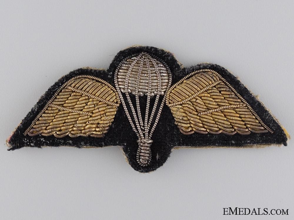 WWII British Parachute Regiment Bullion Wing