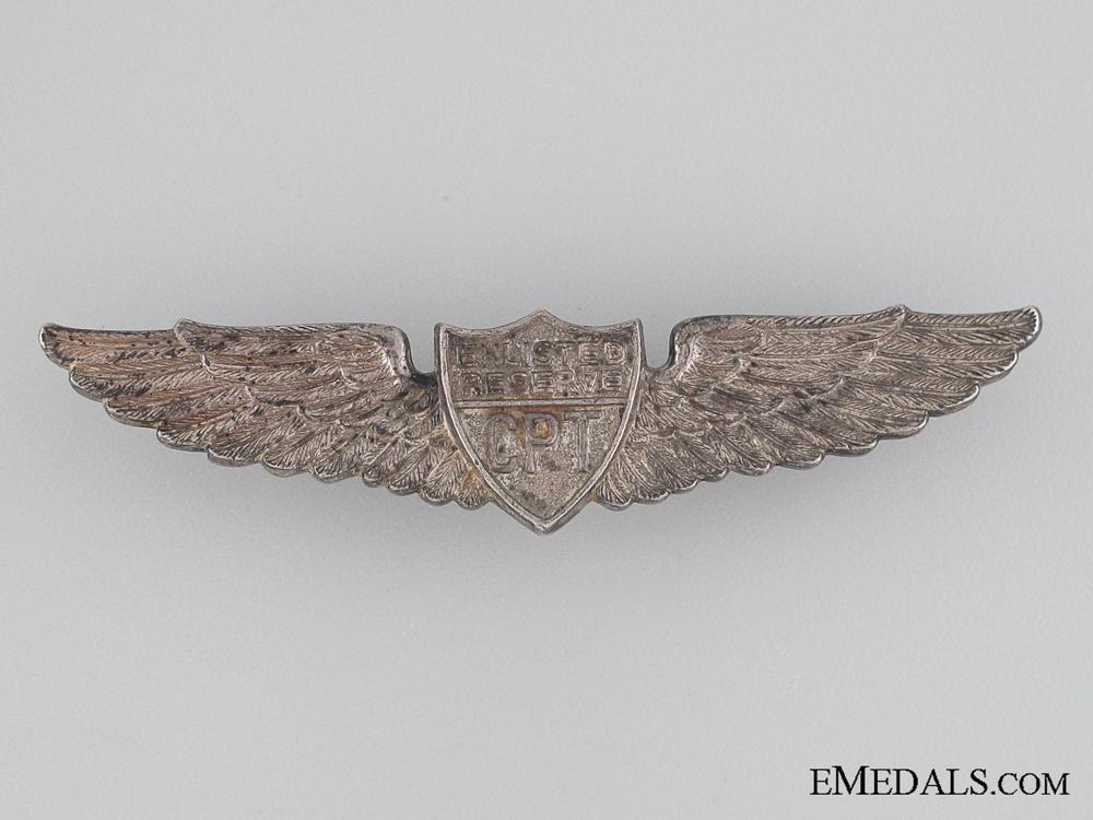 WWII Civilian Pilot Training Program Wings