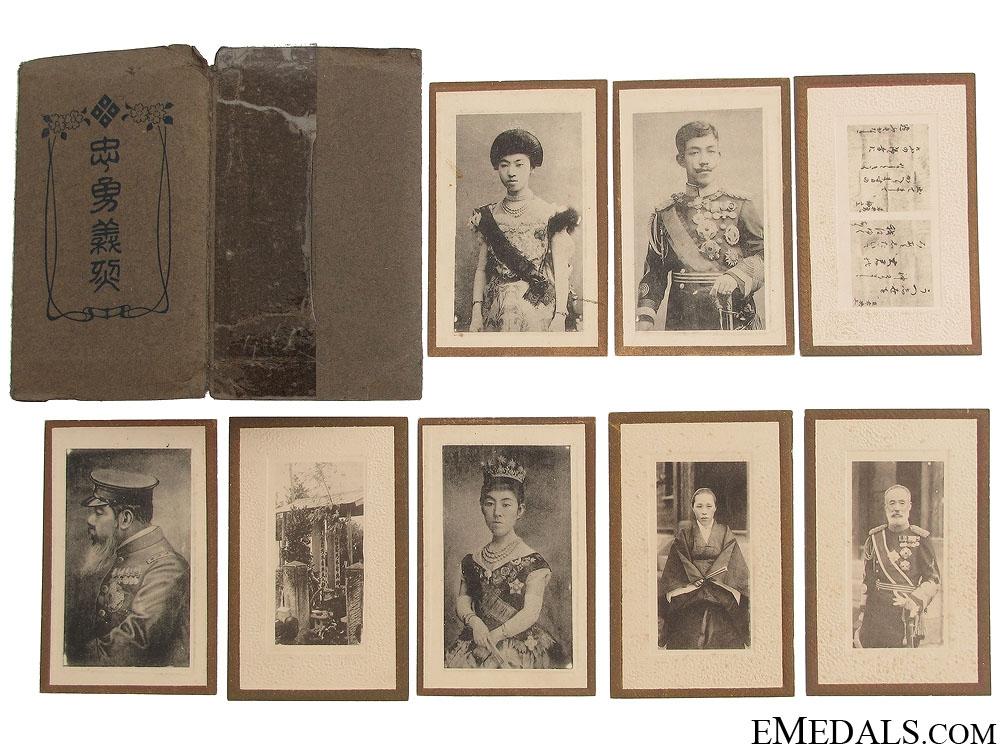 WWII Emperor Taisho & Family Photographs