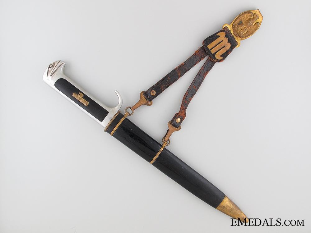 WWII Italian Fascist Militia Black Shirts Dagger
