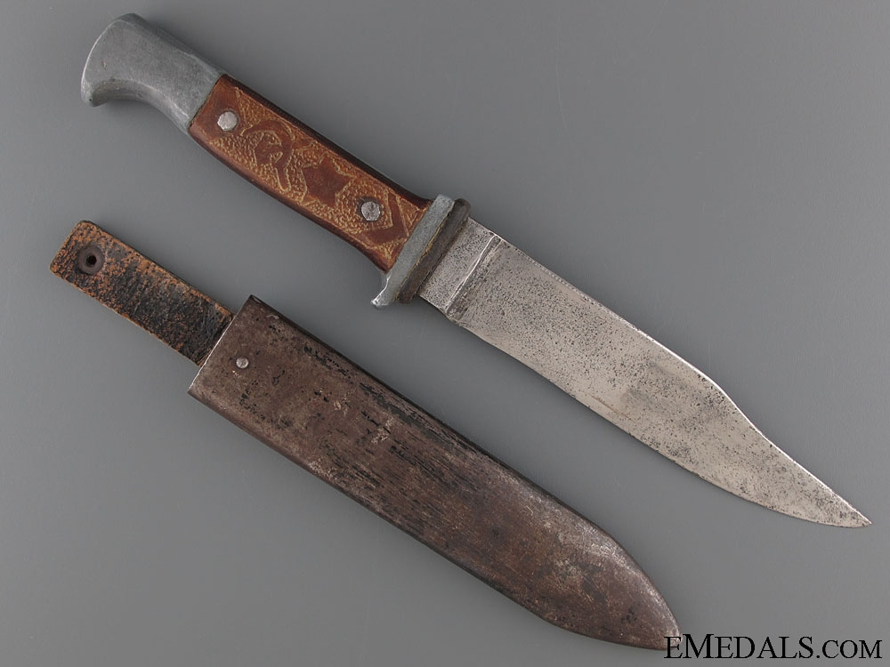Partisan Converted Hitler Youth Knife  300