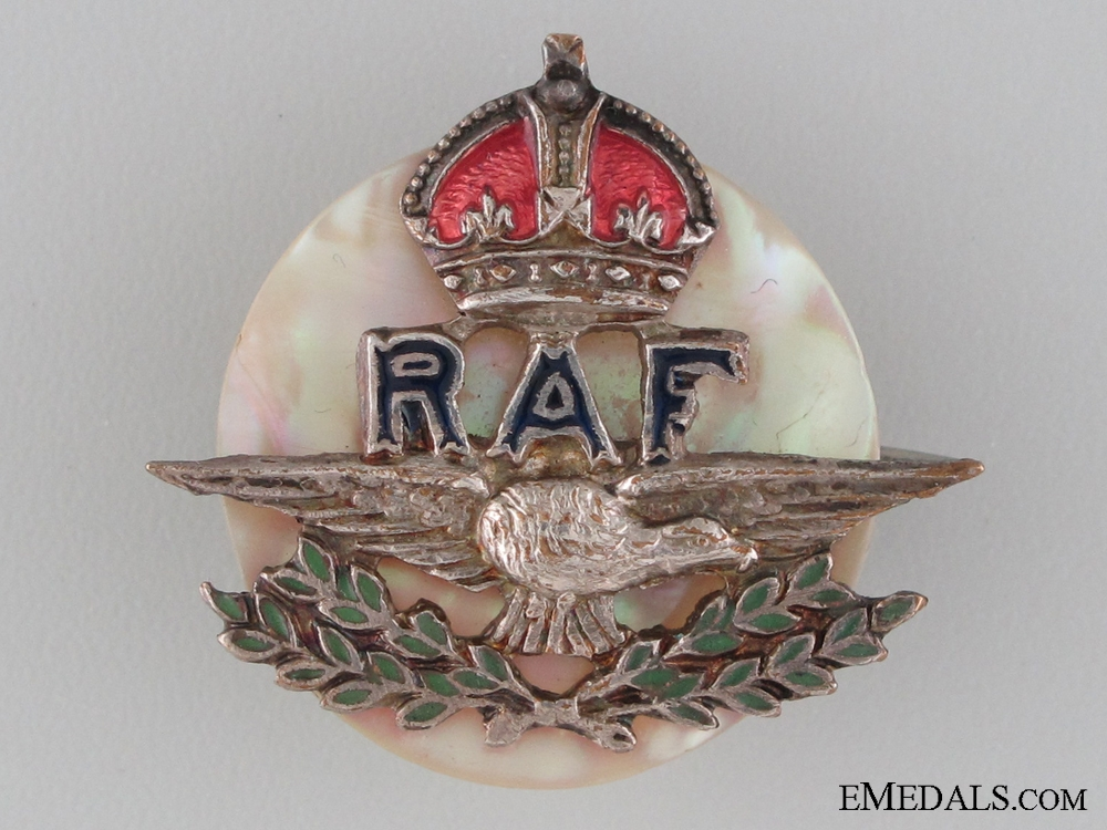 WWII Royal Air Force (RAF) Sweetheart Pin