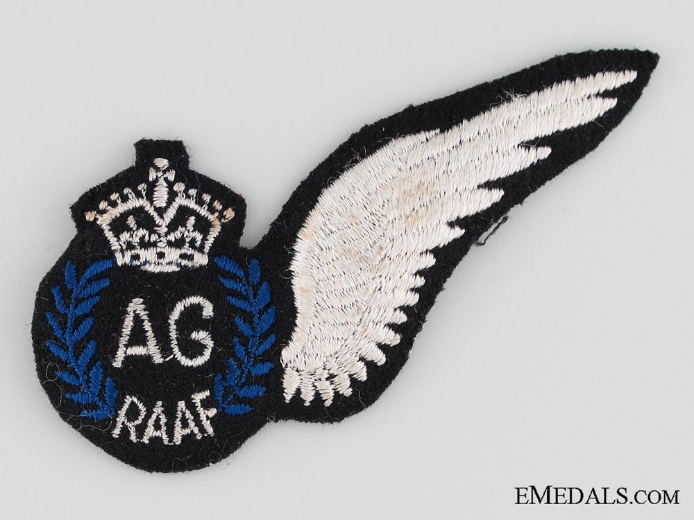 WWII Royal Australian Air Force Air Gunner Wing