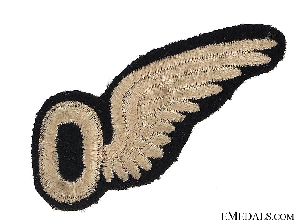 WWII Royal Canadian Air Force (RCAF) Observer's (O) Wing