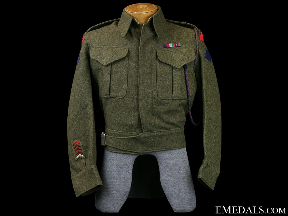 WWII Royal Canadian Engineers Battle Dress