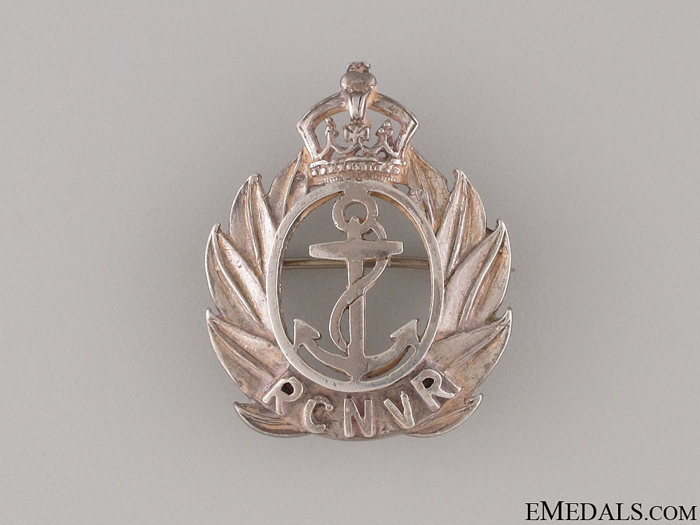 WWII Royal Canadian Naval Volunteer Reserve Pin