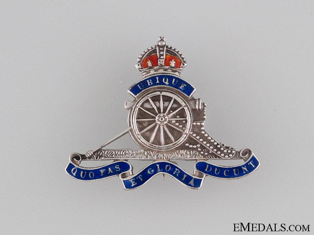WWII Royal Canadian Artillery Pin