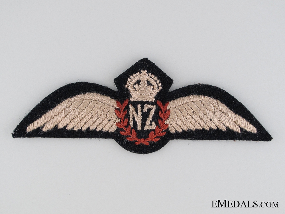 WWII Royal New Zealand Air Force Pilot Wings