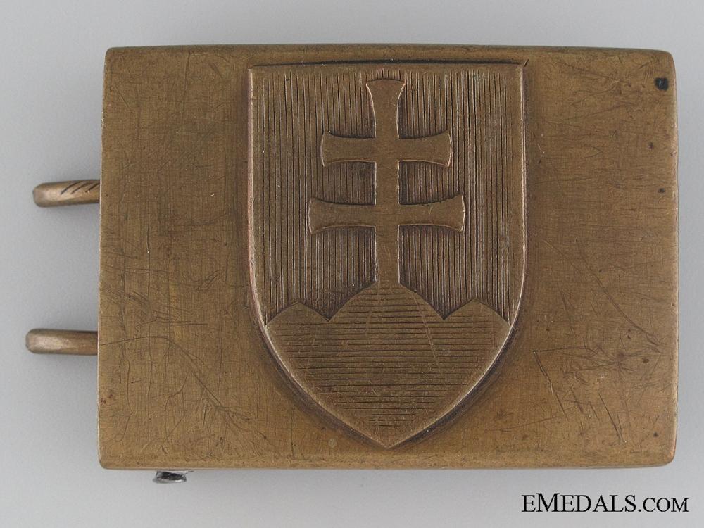 WWII Slovakian Army Belt Buckle