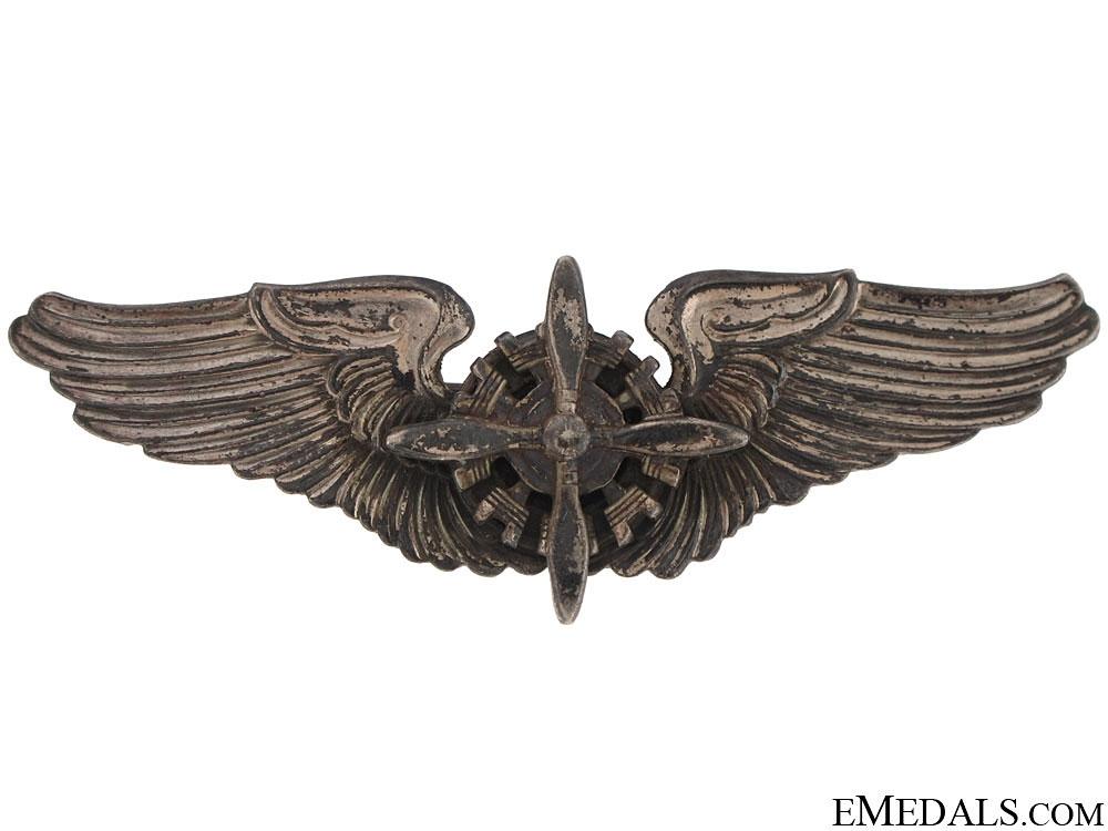 WWII US Flight Engineer Wing