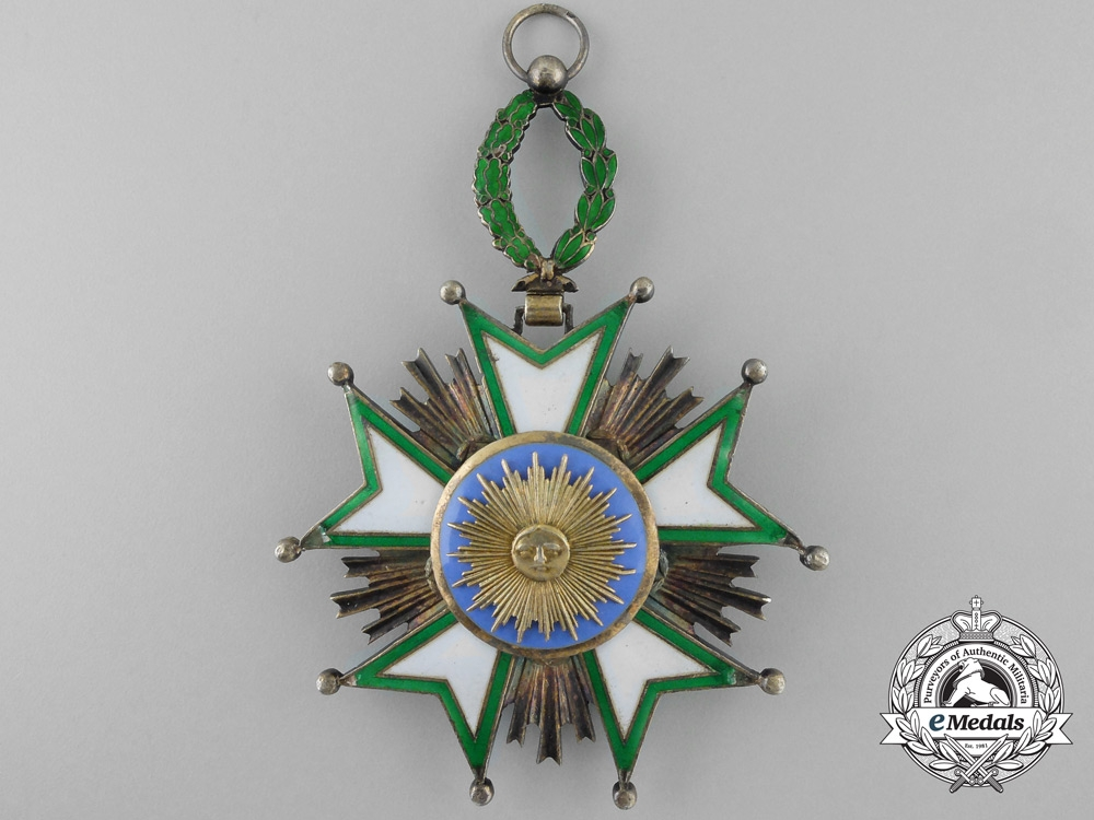 An Order of the Iranian Crown; Grand Cross Badge