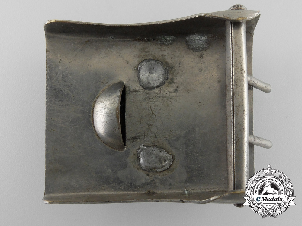 An Early German Fire Defence Service Enlisted Man's Belt Buckle