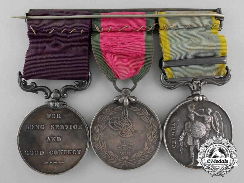 A Fine Crimean War Group to the Bombardier Baker; Royal Artillery