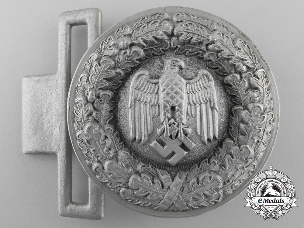 A Wehrmacht Army Officer's Buckle