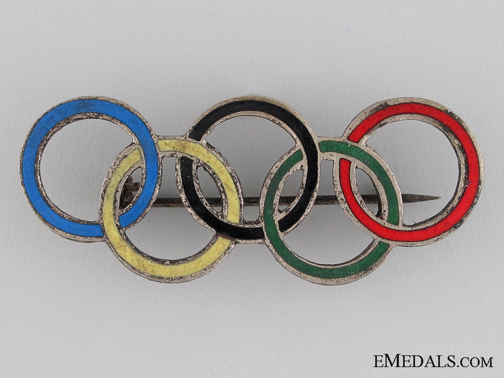 XI Summer Olympic Games Berlin Pin 1936