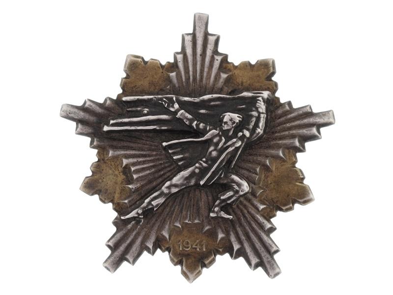 A Yugoslavian Partisan's Decoration 1941