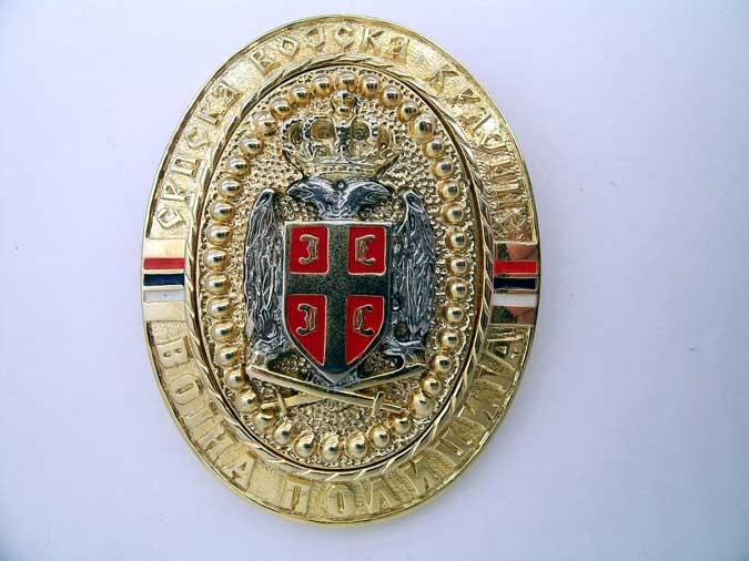 REPUBLIC OF SRPSKA KRAINA – POLICE BADGE