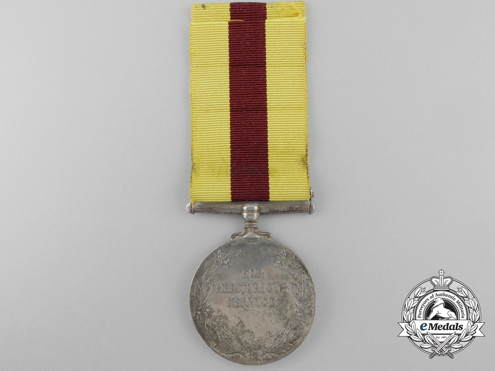 Corps of Commissionaires Meritorious Service Medal