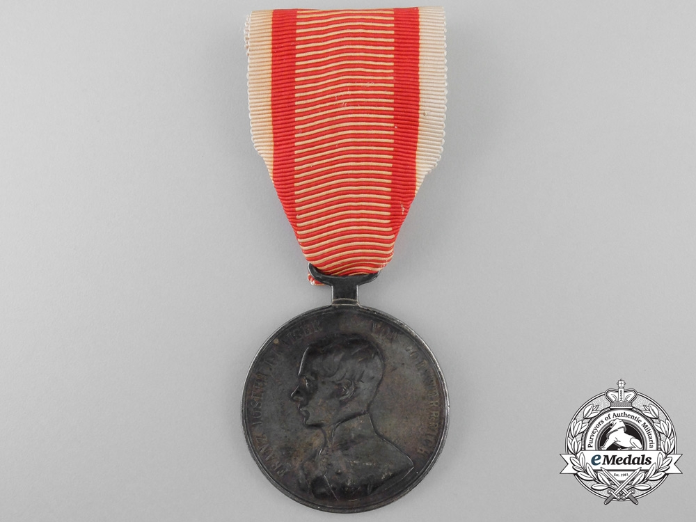 Austrian Silver Bravery Medal; First Class