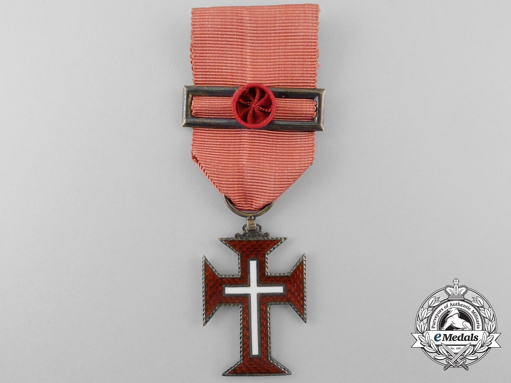 Portugal, Kingdom. A Military Order of Christ, Officer, by Frederico Costa