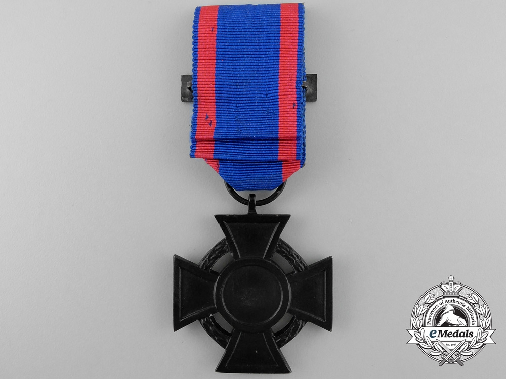 An Oldenburg Friedrich August Cross; 2nd Class with Clasp