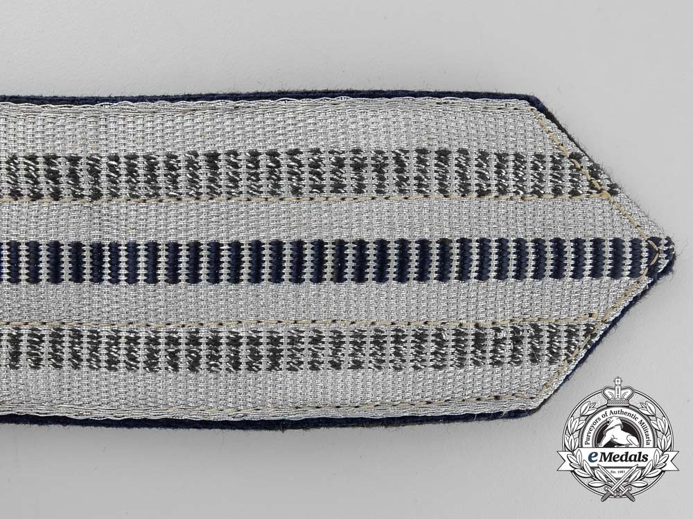 A 1933-1945 Pattern German State Railway Company Leader's Brocade Dress Belt with Buckle