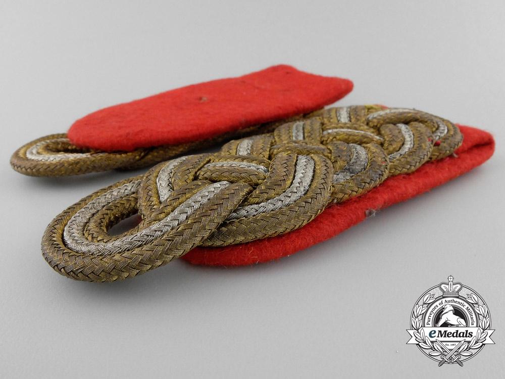Germany. A Set of Generalmajor Shoulder Boards