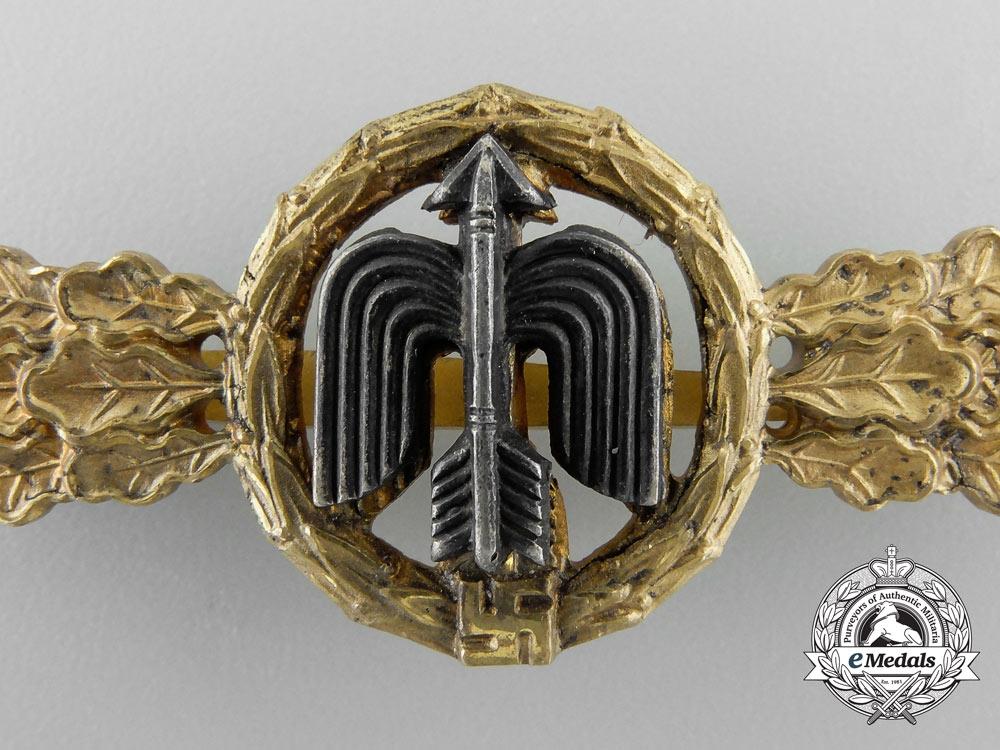 A Luftwaffe Gold Grade Short Range Day Fighter Flight Clasp