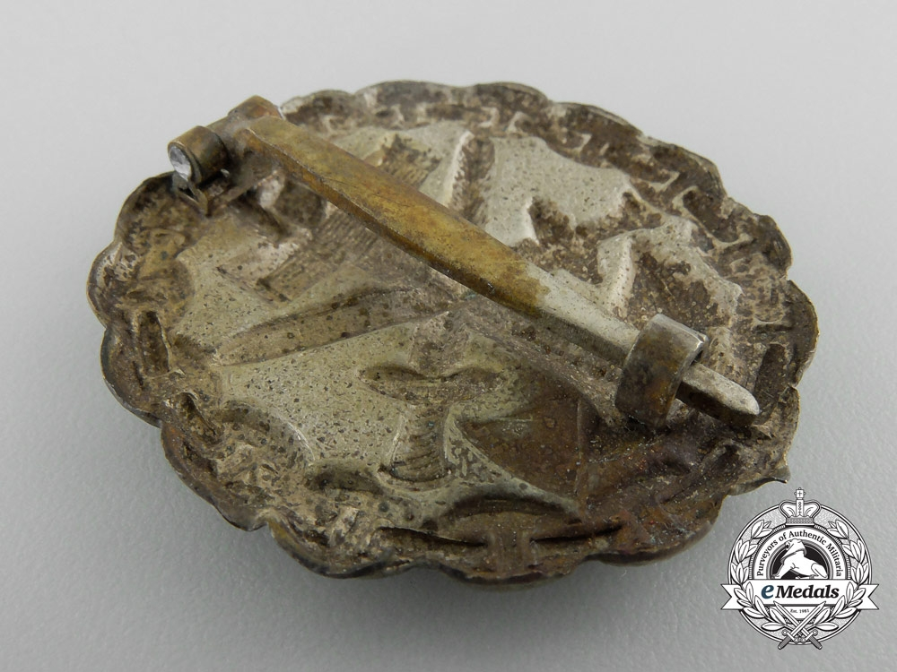 Germany, Imperial. A Naval Wound Badge; Silver Grade