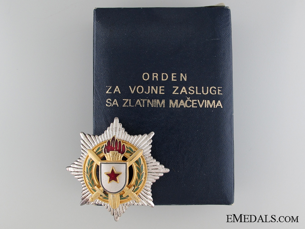 Yugoslavian Order for Military Merit 1952-1991