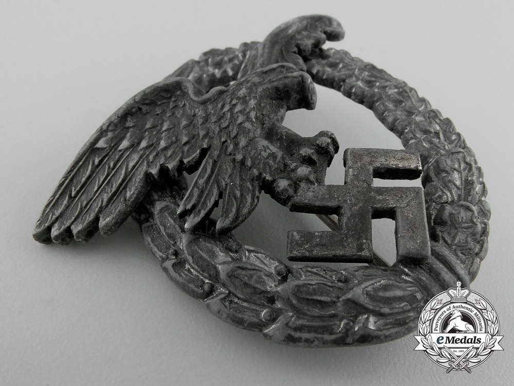 Germany. A Luftwaffe Observer's Badge by P. Meybauer, Berlin