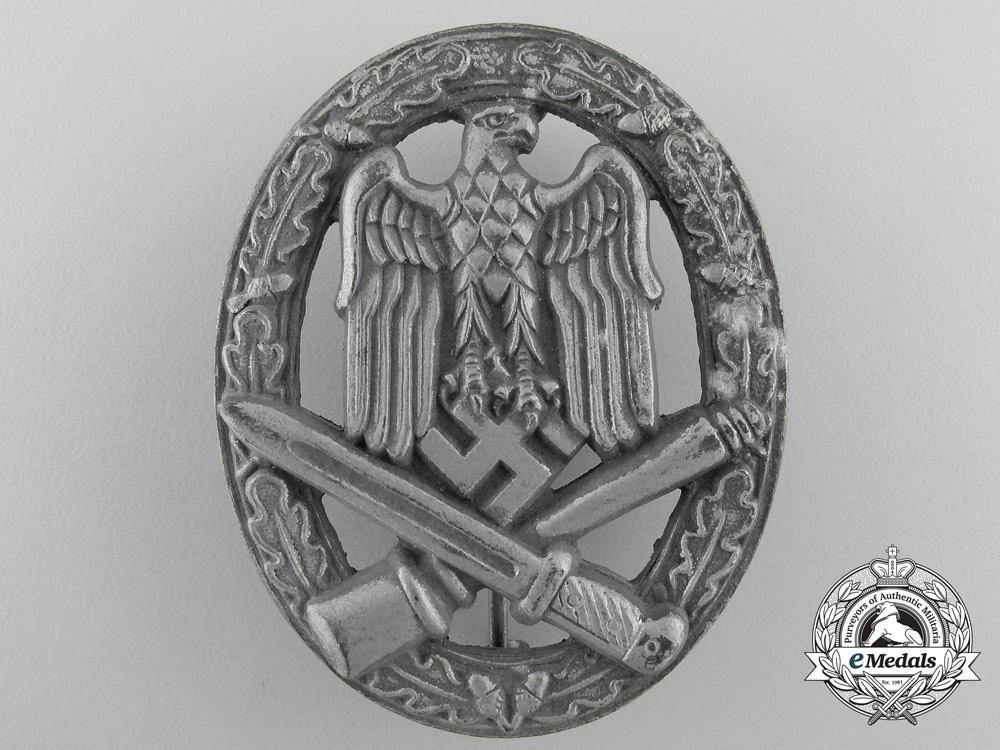 A General Assault Badge by  Hermann Wernstein