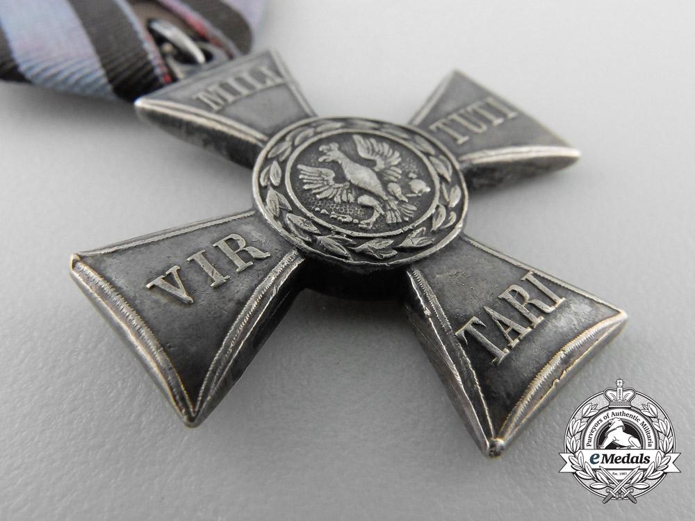 A 1831 Russian Type Polish Order of Virtuti Militari; Silver Cross