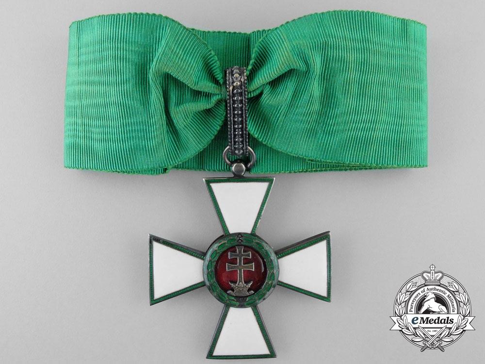 Hungary, Kingdom. An Order of Merit, Commander's Cross