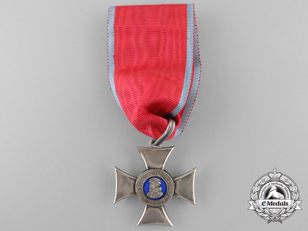 A Hessen Order of Philip the Magnanimous; Silver Grade Cross